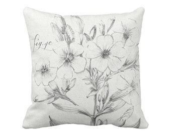 Botanical Pillow Cover Fig. 4C