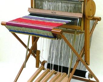 SAORI 4-harness conversion kit - convert your SAORI loom into a 4-harness loom