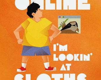 Bob's Burgers: Gene Lookin' At Sloths