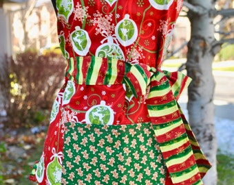 Christmas Reversible Apron