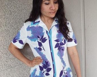 Signed VERA short sleeve blouse