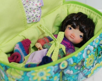Travel Bag Sleeping Protective Doll Case Irrealdoll Lati Yellow Pukiefee Handcrafted For Dolls Handmade 1/6 Bjd Green Turquoise Gray Yellow