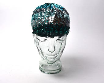 Sequins Flapper Cap