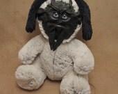"""Grichels G-Wok - """"Flence"""" 29088 - black with blue slit pupil eyes"""
