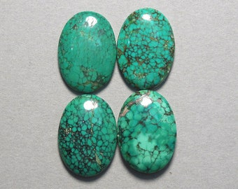 TURQUOISE cabochon blue green oval 18X25mm designer cab