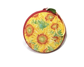 Sunflower Macaron Wristlet Clutch Wallet Large Medium Small or Kit - The Autumn