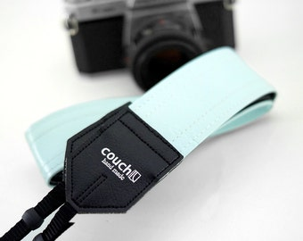 Vintage Sky Cadillac Camera Strap Made of 70s Car Upholstery Vinyl Limited Edition