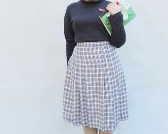 Twin Peaks Plaid Skirt - Handmade By Alice - Only three made!