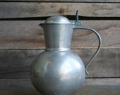 Vintage Pewter Pitchers
