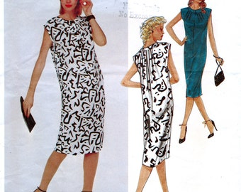 Vogue American Designer 2424 Sewing Pattern by Oscar de la Renta for Misses' Dress - Uncut - Size 16
