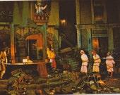 Walt Disney world - antique postcard - Buccaneer - pirates of caribbean - ephemera - photography - Magic Kingdom - Free shipping Canada USA