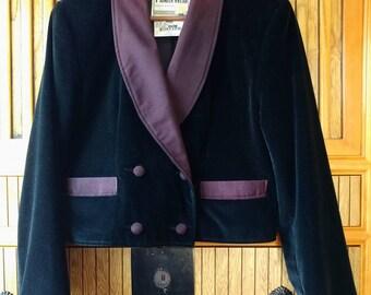Pioneer wear black velvet jacket, velvet western jacket, black velvet jacket, circus trainer jacket, ringmaster jacket, costumes