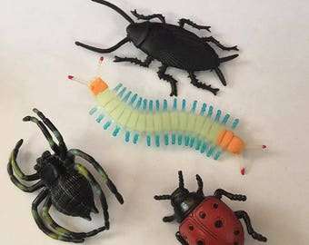 Creepy Crawler Bug Pin Set
