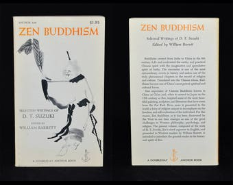 Zen Buddhism - 1956 Stated 1st Edition Paperback - Selected Writings of D.T. Suzuki - Near Fine Condition, Feels Unread - Eastern Philosophy
