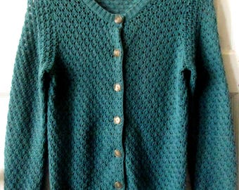 Ann Taylor Cotton Cardigan Sweater, S - XS