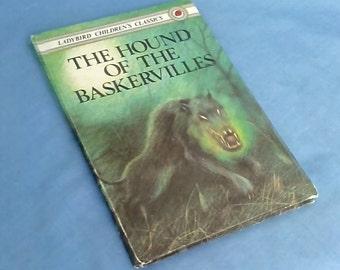 Vintage Ladybird Children's Classics Book The Hound of the Baskervilles - Series 740 - Matt Covers 1st Edition - 50p