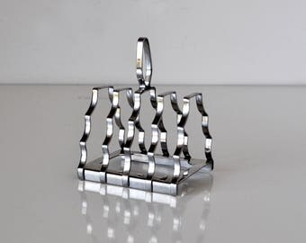 Art Deco Toast Rack Olde Hall England