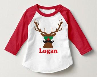 Boys christmas shirt | Etsy