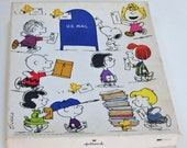 Vintage Peanuts,Charles Schulz Stationery,Charlie Brown,Snoopy,Woodstock,Lucy,Peppermint Patty,Schroeder,Marcie,Hallmark