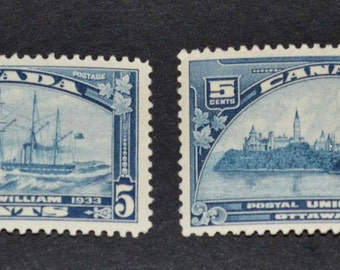 2 MNH Canadian stamps  1933