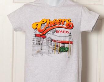 Vintage 90s CHEERS BOSTON Tshirt