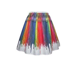 Melting Crayons Skirt