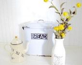 Vintage Milk Crock Jar Stoneware Pottery Pitcher Farmhouse Decor