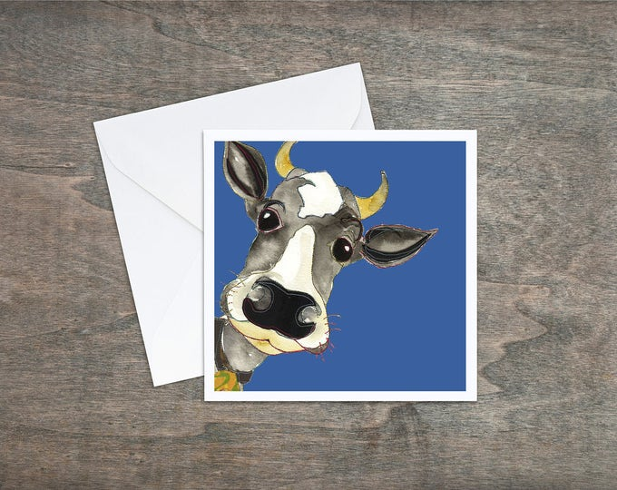 Cow - Art Card