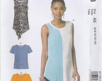 Unusual Shirt & Tunic Pattern McCalls 7196 Sizes 6 - 14 Uncut