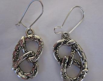 CLEARANCE Pretzel Earrings