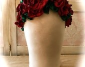 Art Nouveau Style Roses Roses Head Piece Photo Specialty Piece Bride Bridesmaid Shabby Chicness