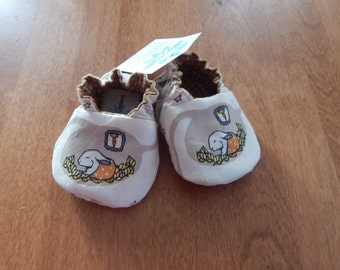 Baby Bunny Shoes--LAST PAIR--Newborn--Organic cotton