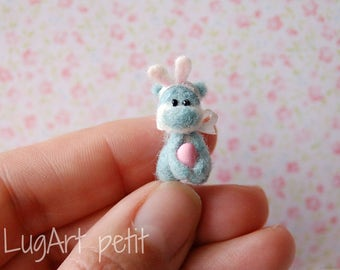 Tiny Bear with Easter costume