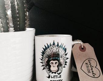 Mug Little Monkey by Caravan Tepee
