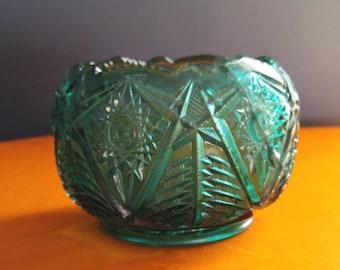 Smith Glass Valtec Rose Bowl