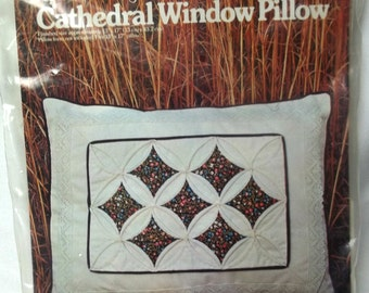Pillow Kit Cathedral Window Sewing Supply