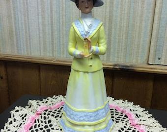 Vintage 1980 Avon Mrs. Albee Award Statue