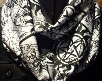 Supernatural Anti Possession Infinity Scarf