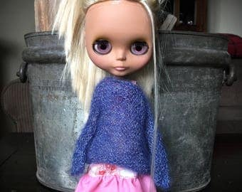 Blythe Doll Knitted Mohair and Silk Blend Slouch Sweater