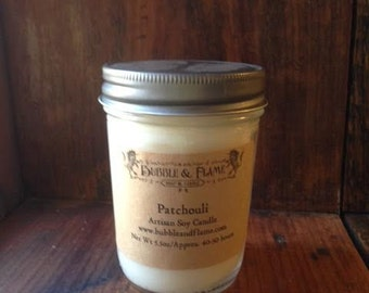 Patchouli: Soy Candle, Candle, Container Candle
