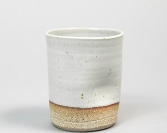 Thumb Cup: Hand thrown, handmade by Hanselmann Pottery with FREE SHIPPING