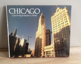 vintage Chicago book from 1980's