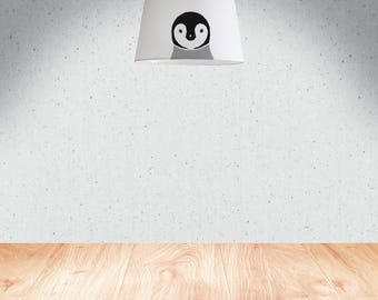 Penguin | Lamp Shade 34 cm (13.4 in), hand painted