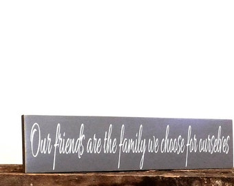 Friendship Sign - Gift For Friend - Wooden Wall Hanging Sign - Home Decor Wall Art