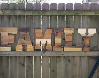 rustic home decor pallet wall art family reclaimed pallet letters industrial wood letters pallet letters large wood letters 16
