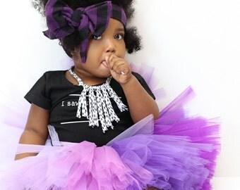 Purple Ombre Tutu - Purple Flower Girl Tutu - Purple Baby Tutu - Purple Ombre Adult Tutu - Ombre Purple Tutu Skirt