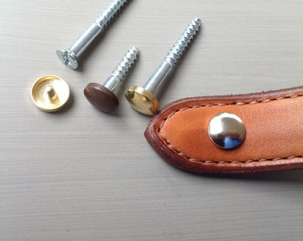 Hardware, wood screw with caps