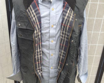 Burberry Waxed Cotton Vest; Weatherproof Shooting Vest, The Expanse Costume