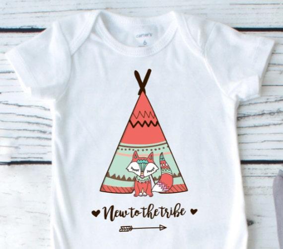 new to the tribe Boho Baby Clothes Boho Baby boy baby boy