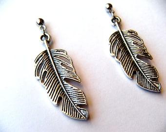 Feather Earrings - Fall Earrings